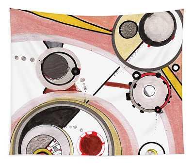 Mechanics Of Modernity Tapestry