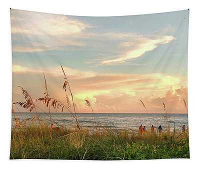 Medeira Beach B Tapestry