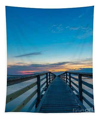Memories On The Boardwalk Tapestry