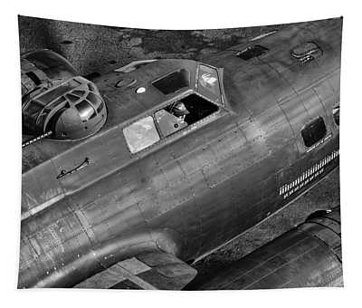 Memphis Belle From On High Tapestry