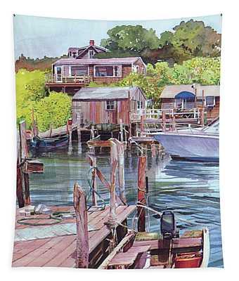 Menemsha Harbor Tapestry