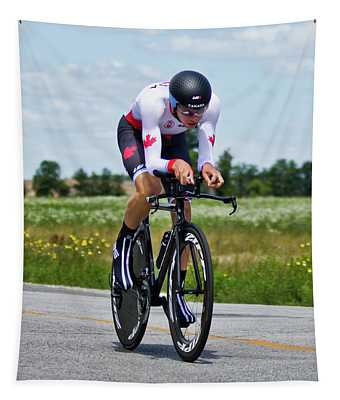 Mens Individual Time Trial No 1 Tapestry