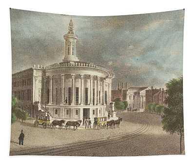 Merchants Exchange, 1838 Tapestry