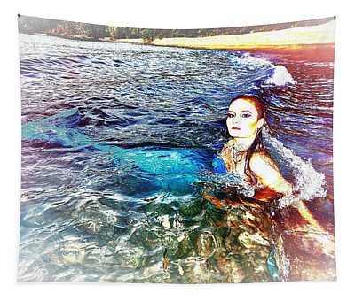 Mermaid Shores Tapestry