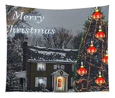 Merry Christmas At Kathy's Tapestry