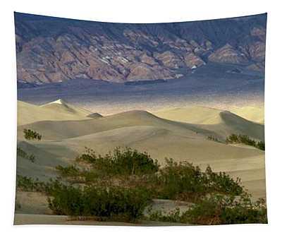 Mesquite Flat Sunset Tapestry
