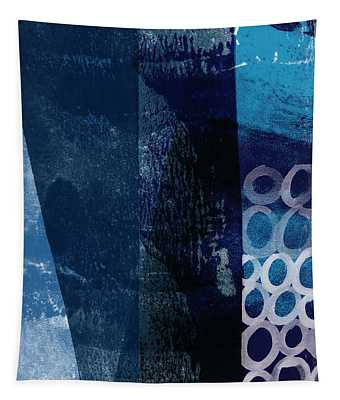 Mestro 6- Abstract Art By Linda Woods Tapestry