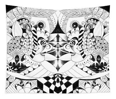 Metamorphosis Arrangement 2 Tapestry