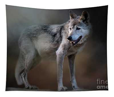 Mexican Wolf Tapestry