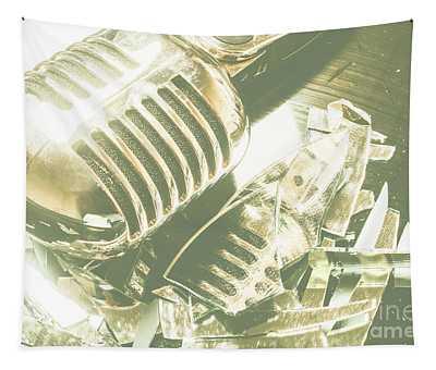 Mic Drop Tapestry
