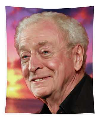 Michael Caine Tapestry