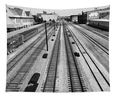 Middle Of The Tracks Tapestry
