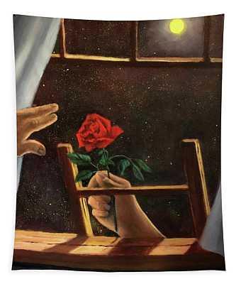 Midnight Romance. Romance De Medianoche Tapestry