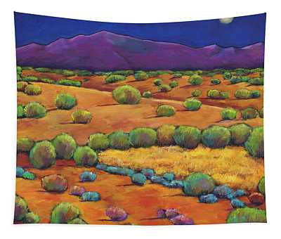 Midnight Sagebrush Tapestry