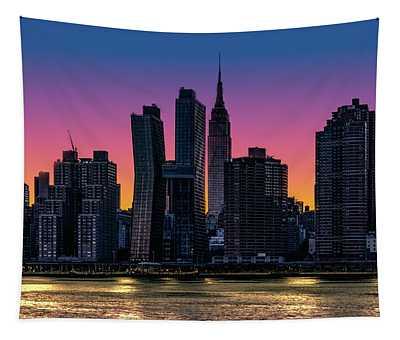 Midtown Eastside Evening Tapestry