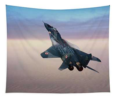 Mikoyan Gurevich Mig 29a Fulcrum Tapestry