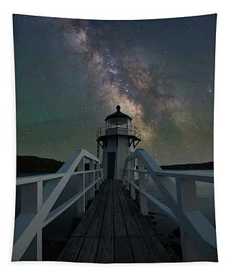 Milky Way Over Doubling Point Tapestry