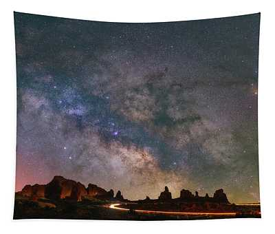 Milky Way Ride Tapestry