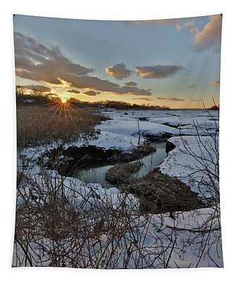 Mill Creek Sunset Tapestry