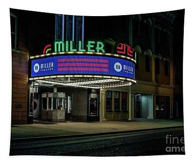 Miller Theater Augusta Ga Tapestry