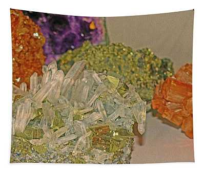 Tapestry featuring the photograph Mineral Medley 7 by Lynda Lehmann