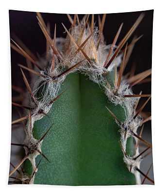 Mini Cactus Up Close Tapestry