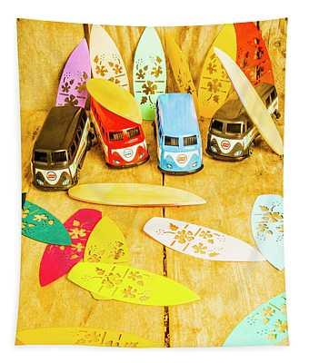 Mini Van Adventure Tapestry
