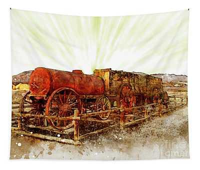 Mining Death Valley Tapestry