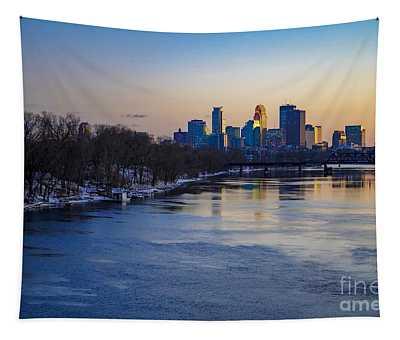 Minneapolis Skyline Tapestry