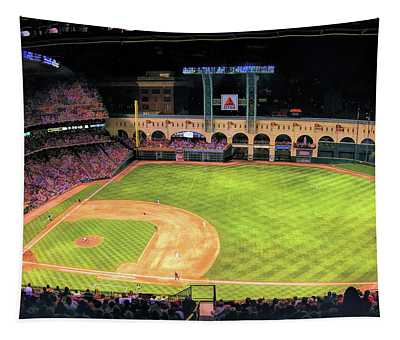 Minute Maid Park Houston Astros Tapestry