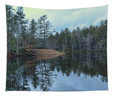 Mirrored Island Tapestry