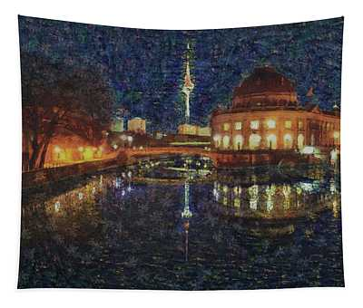 Mist Of Impressionism. Berlin. Tapestry