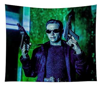 Mister Anderson  Tapestry