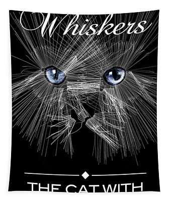 Mister Whiskers Tapestry