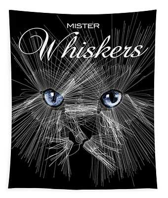 Mister Whiskers Tapestry