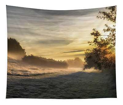 Misty Waves Tapestry