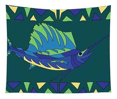 Moana Ola Sailfish 10 Tapestry
