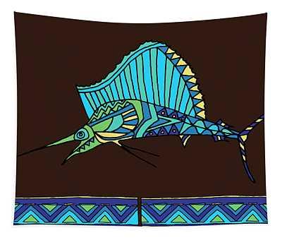 Moana Ola Sailfish 13 Tapestry