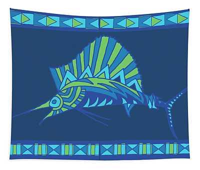 Moana Ola Sailfish 7 Tapestry