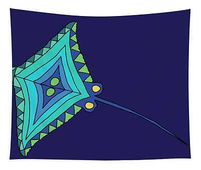 Moana Ola Searay 2 Tapestry