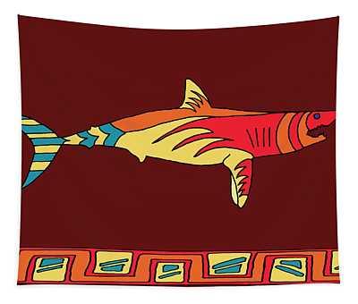 Moana Ola Shark 2 Tapestry