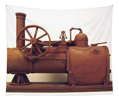 Derelict Steam Boiler 1 Tapestry