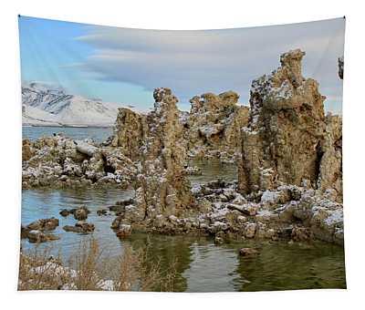 Mono Lake Tufa Towers Sunrise Tapestry