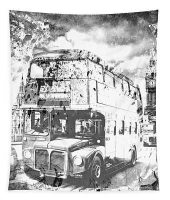 Monochrome Art London  Tapestry