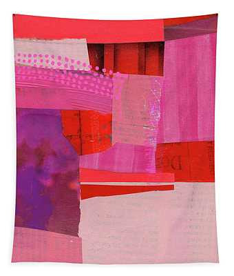 Monochrome Pink #2 Tapestry