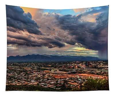 Monsoon Hits Tucson Tapestry