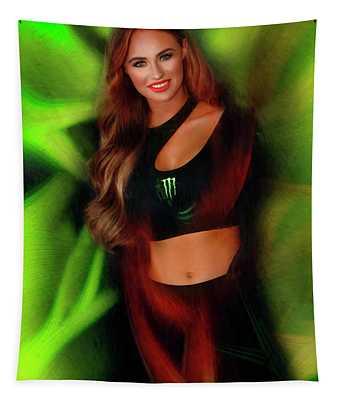 Monster Energy Girl 2019 Tapestry
