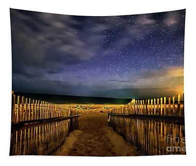 Montauk Stary Night Tapestry