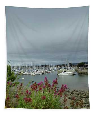 Monterey Harbor  Tapestry