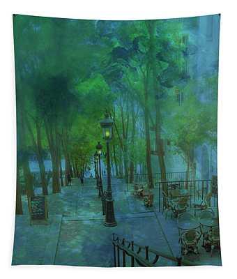Montmarte Paris France Tapestry